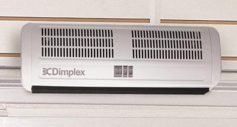 Kurtyny powietrzne elektryczne AC DIMPLEX