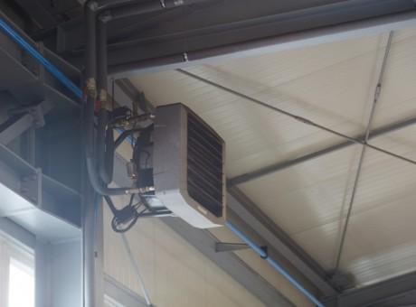nagrzewnice wodne przemysłowe LEO FLOWAIR - ogrzewanie hali 5