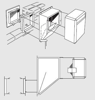 Nagrzewnica elektryczna przemysłowa ścienna PANTERA FRICO jako aparat grzewczo-wentylacyjny