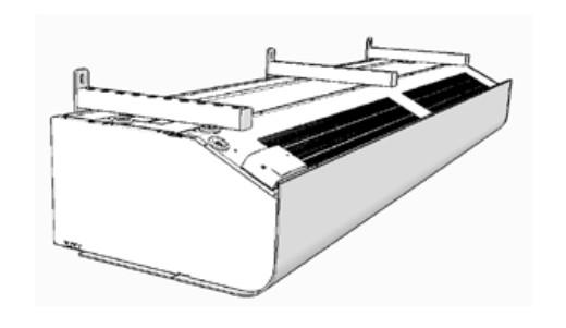 urtyna powietrzna PA3510E08 Frico montaż ścienny