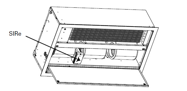 kurtyna powietrzna do sufitu podwieszanego AR 3500 - konserwacja