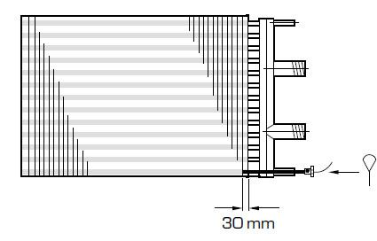 nagrzewnica wodna wymiennik ciepła woda powietrze QLHF QLHG COILTECH LUVATA - przeciwzamrożeniowe