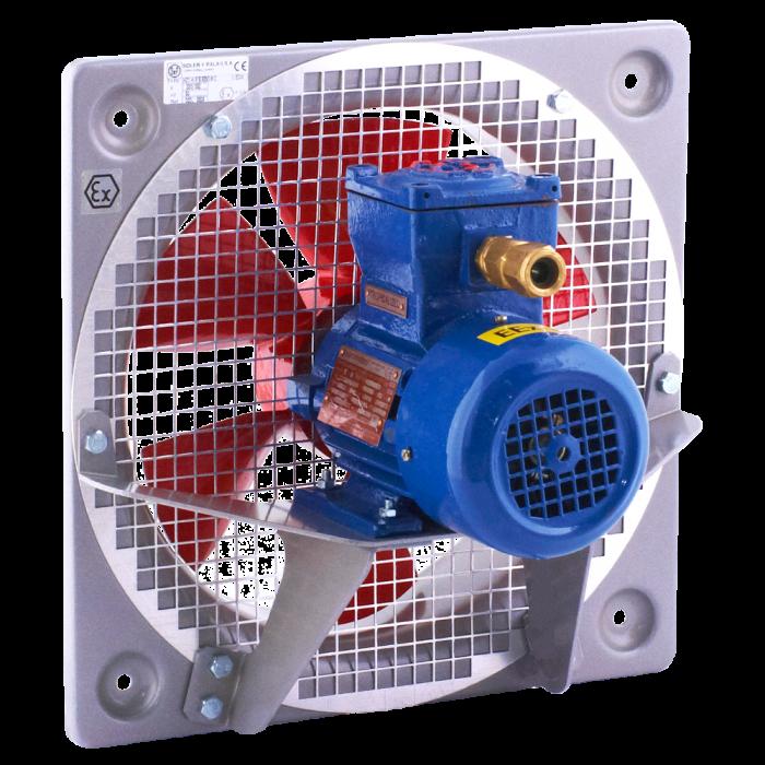 wentylator przeciwwybuchowy osiowy ścienny HDT HDB Venture Industries