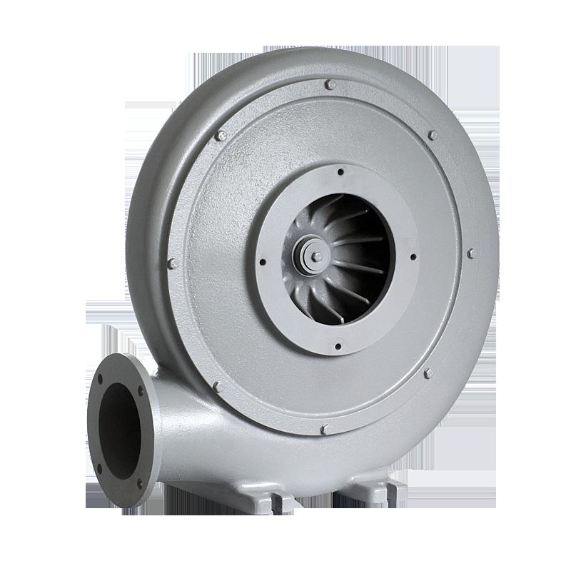 wentylator promieniowy przemysłowy do odciągu i transportu wiórów, trocin, pyłów MPA - przód