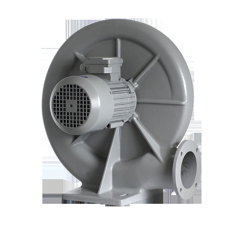 wentylator promieniowy przemysłowy do odciągu i transportu wiórów, trocin, pyłów MPA - tył