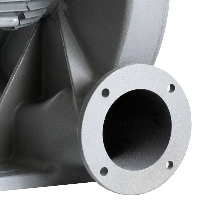 wentylator promieniowy przemysłowy do wiórów, trocin, pyłów MPA - wylot