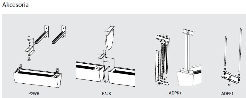 kurtyna powietrzna PORTIER FRICO - akcesoria