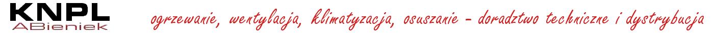 KNPL - profesjonalne kurtyny powietrzne, nagrzewnice, wentylatory, aparaty grzewczo-wentylacyjne