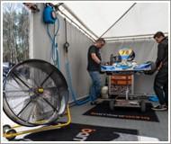 wentylator DF 30P do cyrkulacji powietrza i przewietrzania